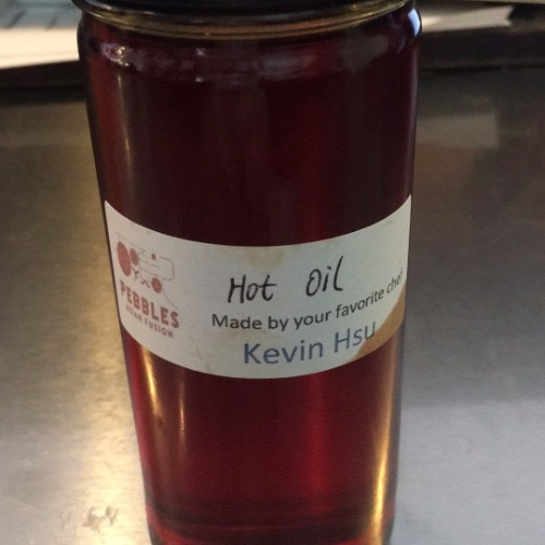 Homemade hot oil (8oz bottle)